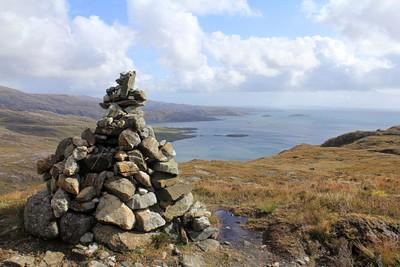 גל האבנים שנבנה לציון סוף העליה