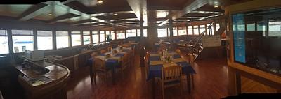 חדר אוכל ותדריכי צלילה