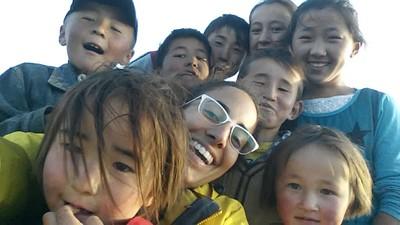 תמונה מהשמורה, הילדים ביקשו שאצטלם איתם סלפי