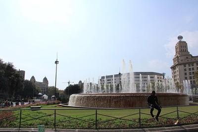 ברצלונה - כיכר קטלוניה