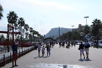 ברצלונה - טיילת הנמל