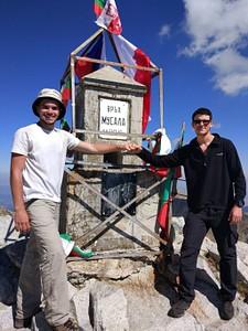 פסגת המוסלה!- ההר הכי גבוה בבלקן