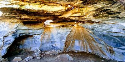 המערה ליד חורבת קנים