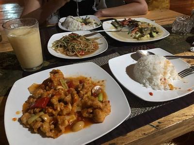 אוכל תאילנדי - גיוון נחמד