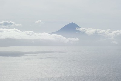 pico mountain (תצפית מהאי סאו ג'ורג')