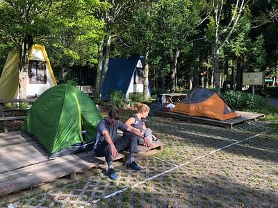 מתחם האוהלים