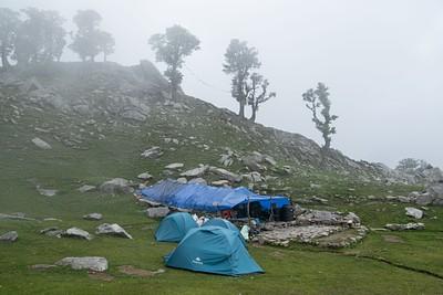 Snow line camping/ himlayan quest ca