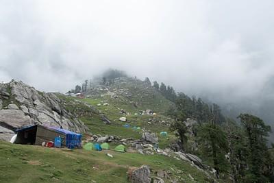 Triund camping