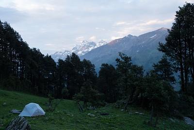 האוהל שלנו בנגרוני (המחנה הראשון)