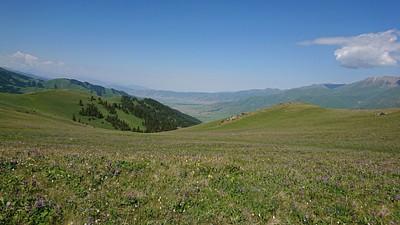 הנוף מהפס הראשון