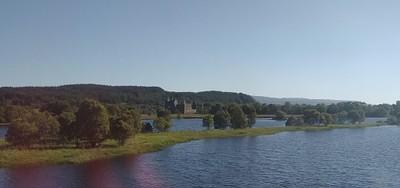 הנוף מהרכבת: Kilchurn Castle