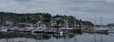 הנמל הציורי של OBAN