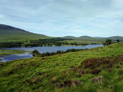 Loch Tulla. עוד רגע מגיעים ל-INVERORAN