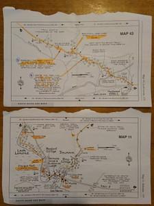עמודי המפות המצויירות, מפורטות להפליא!