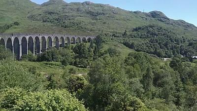 הגשר המפורסם ב-GLENFINNAN