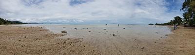 אחד החופים בצפון קוסמוי, עצרנו עם המונית