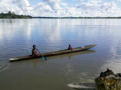 תמונה ראשונה מנהר הספיק, Pagwi.