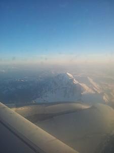 המון בלאן. ממליץ לשבת במטוס ליד החלון בצד המערבי.