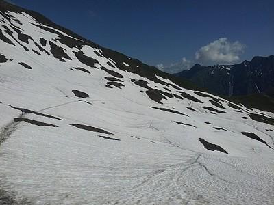 הירידה לשוויץ רוויה בשלג #2