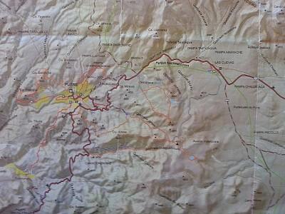 מפת השמורה - חלק מערבי