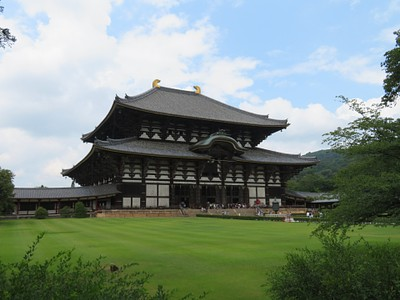 מקדש Todaiji ופסל בודהה