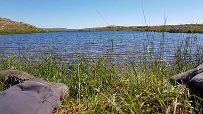 אגם ששחינו בו.