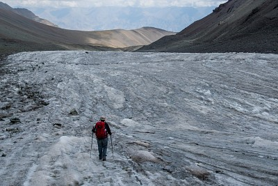 הירידה על הקרחון בסטוק קנגרי