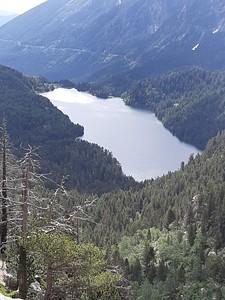 תצפית מעל אגם מאוריצ'י