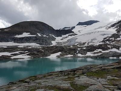 אגם Arpont והקרחון