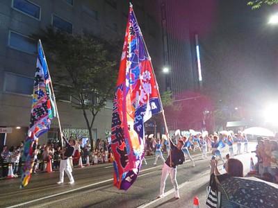 פסטיבל מקומי ב- Kanazawa