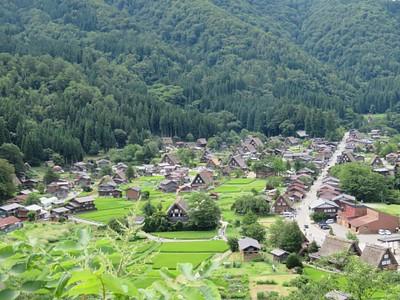 הכפר האלפיני Shirakawa-Go