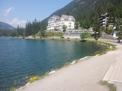 האגם ב-Champex