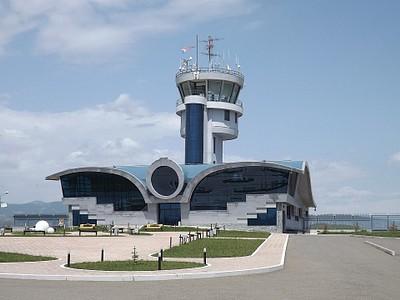 מבנה הטרמינל החדיש בנמל התעופה הבינלאומי של נגורנו קראבאך