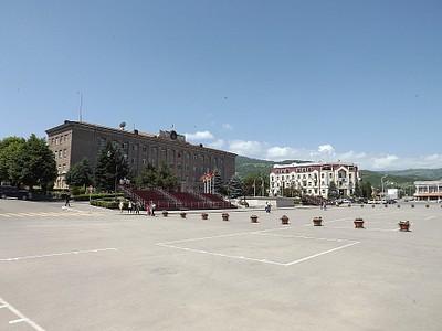 בית הנשיא מרכז העיר סטפנקרט
