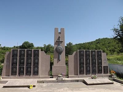 אנדרטה לקורבנות המלחמה בכפר דהרב