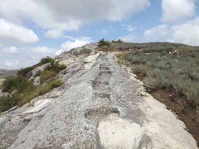 השביל המוביל אל העתיקות