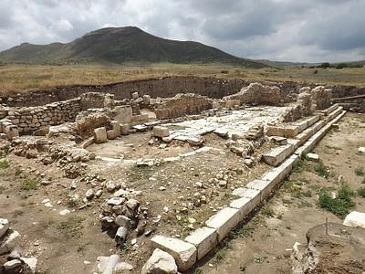שרידי בזיליקה מן המאה החמישית לספירה