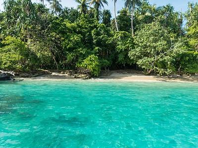 Pig Island, עוד אחד מהאיים ליד מדאנג.