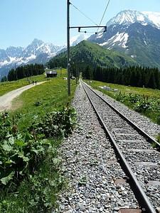 הולכים קצת לאורך הרכבת. הנוף מסביב מטריף.. אבל זו רק ההתחלה.