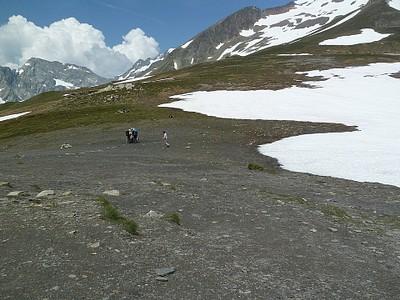 על הפס Col de la Seigne