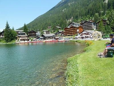האגם ב-Champex #4