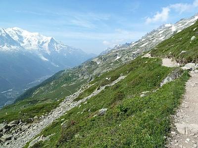 ההליכה לכיוון Lac Blanc #3