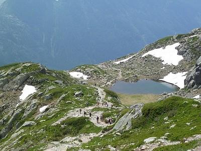 הנוף בדרך ל-Chamonix #2