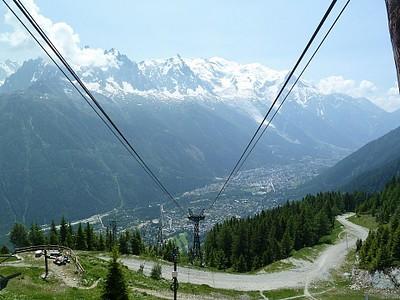 הרכבל Flegere ל-Chamonix