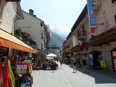 העיירה התיירותית Chamonix