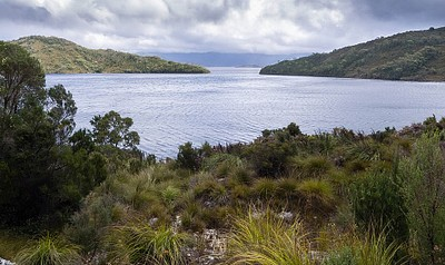 Lake Pedder.