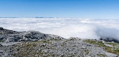 הנוף מפסגת ההר.