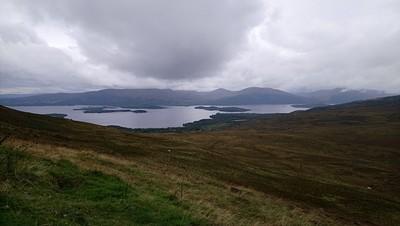 הנוף מהגבעה