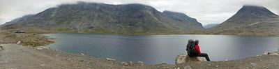האגם לפני LEIRVASSBU