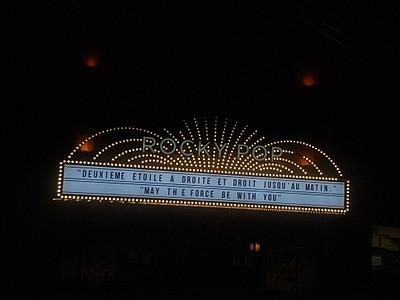 שלט הכניסה למלון RockyPop
